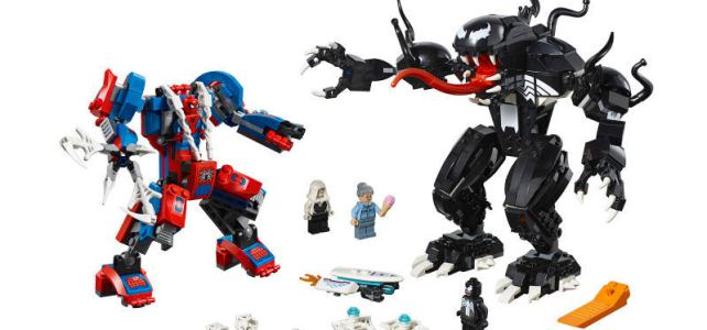 LEGO Marvel 2019 Spider-Man Mech vs Venom Mech