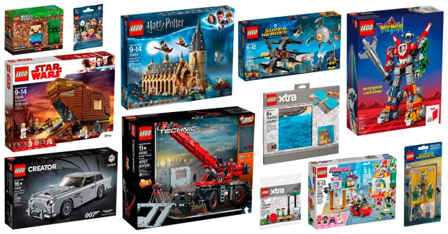 Nouveautés LEGO 2018 Harry Potter Technic Star Wars