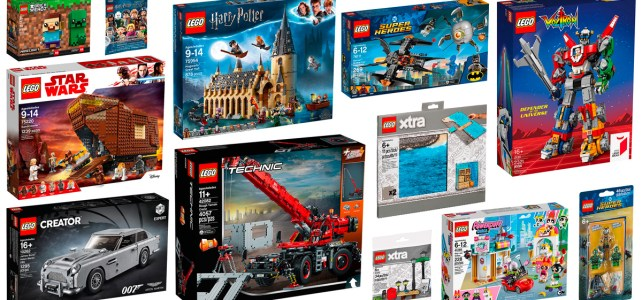 Nouveautés LEGO 2018 Harry Potter Technic Star Wars