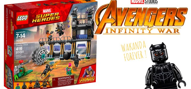 REVIEW LEGO Marvel 76103 Corvus Glaive Thresher Attack