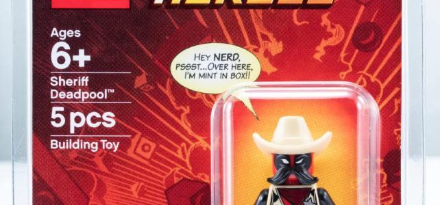 SDCC 2018 LEGO Marvel Sheriff Deadpool
