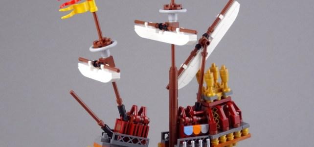 Harry Potter et le Tournoi des Trois Sorciers : le bateau de Durmstrang