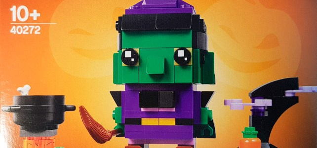 LEGO Seasonal BrickHeadz 40272 Witch