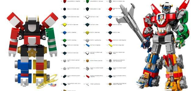 Micro LEGO Ideas Voltron