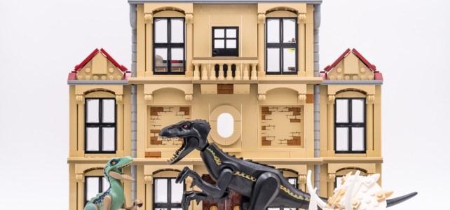 REVIEW Jurassic Word LEGO 75930 Indoraptor Rampage