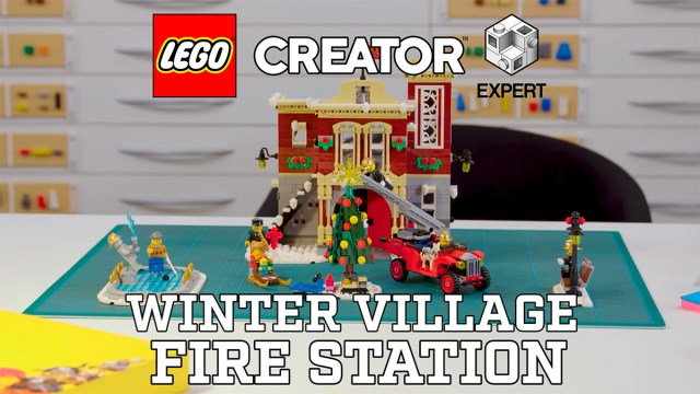 LEGO 10263 Winter Village Fire Station video designer