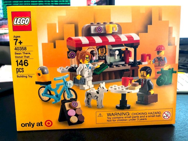 LEGO 40358 Bean There Donut That Target US