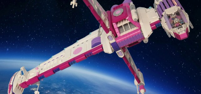Crossover Star Wars X LEGO Friends : B-Wing pour BFF