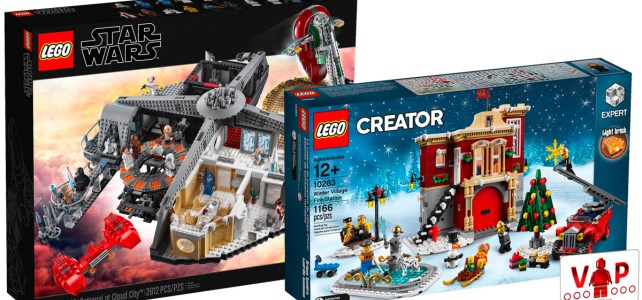 LEGO Star Wars 75222 Cloud City et LEGO 10263 Winter Village Fire Station maintenant disponibles en avant-première VIP