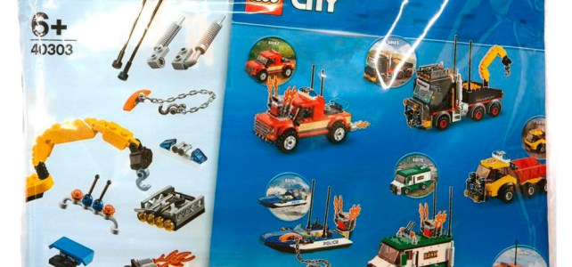 Sur le Shop LEGO uniquement : le polybag 40303 Boost My City offert