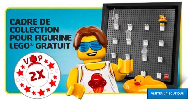 LEGO 5005359 Minifigure Collector Frame VIP