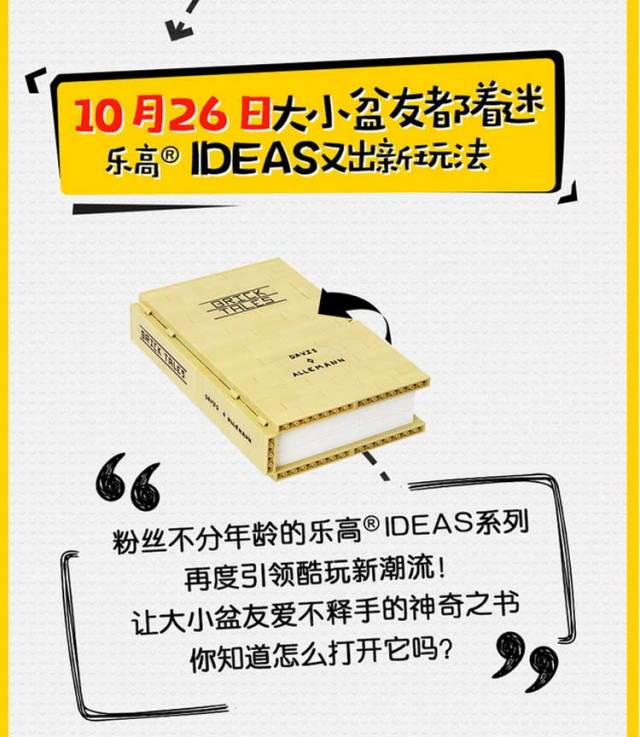 LEGO Ideas 21315 Pop-Up Book LEGO China