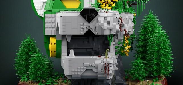 Voltron Legendary Defender : le Lion vert dans son élément naturel