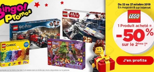 Chez Toys R Us : le deuxième produit LEGO à -50%
