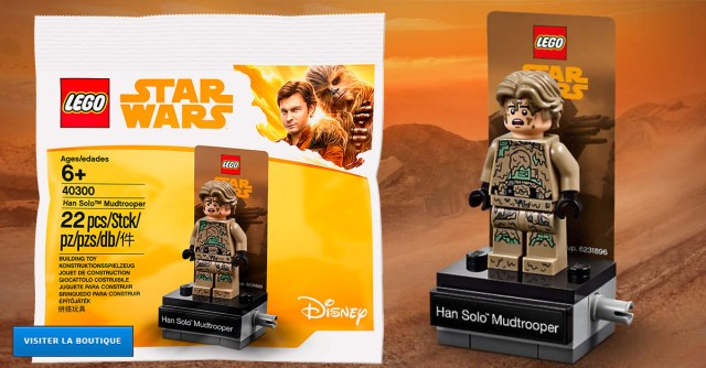 Stand LEGO Star Wars 40300 Han Solo Mudtrooper