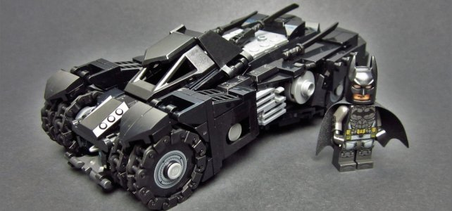 Batman Arkham Knight's Batmobile