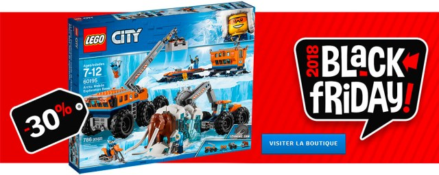 LEGO Black Friday 2018 LEGO City 60195 Arctic Expedition