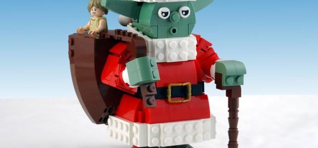 LEGO Star Wars Santa Yoda