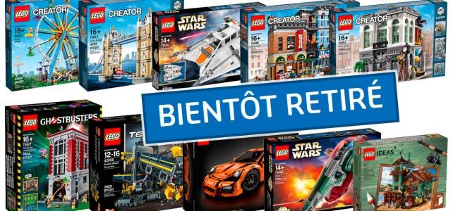 LEGO bientot retiré 2018
