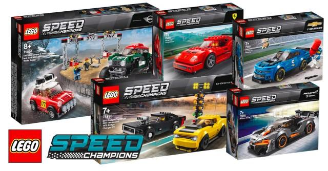 Nouveautés LEGO Speed Champions 2019