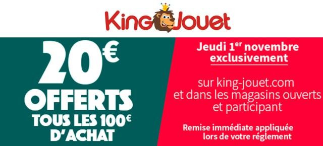 Promo LEGO King Jouet 2018