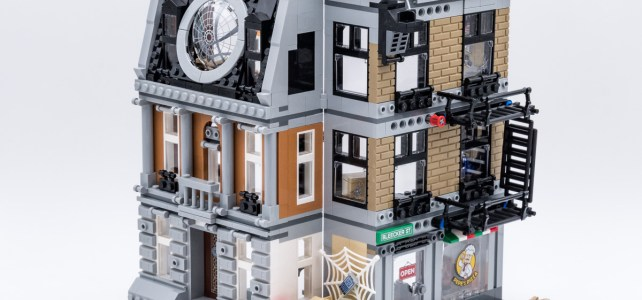 REVIEW LEGO 76108 Sanctum Sanctorum Showdown