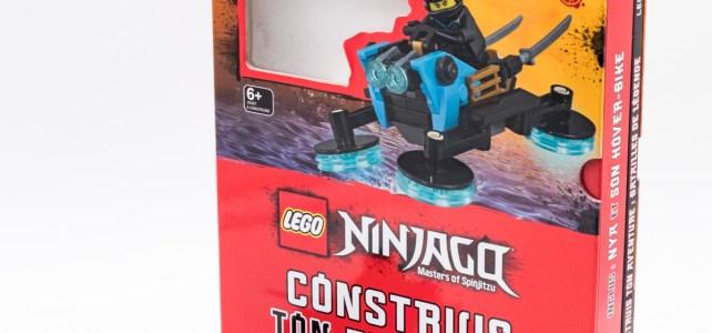 REVIEW Livre LEGO Ninjago Construis Ton Aventure