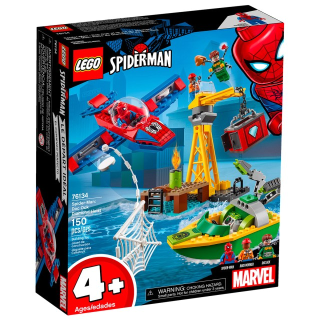 LEGO 76134 Spider-Man Doc Ock Diamond Heist