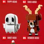 Nouveautés LEGO BrickHeadz 2019