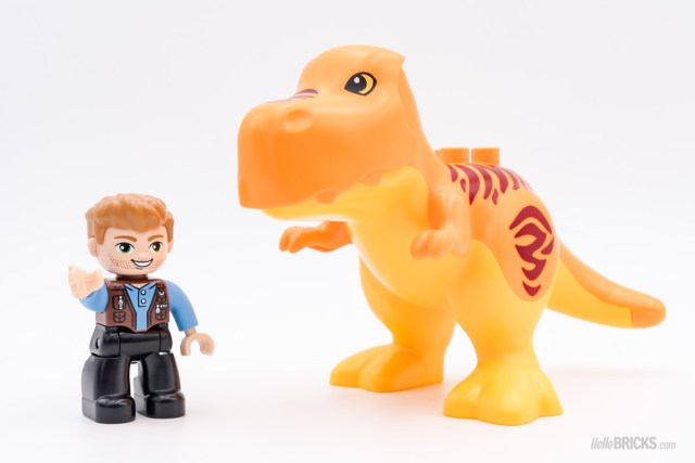 REVIEW LEGO DUPLO 10880 T-Rex Tower