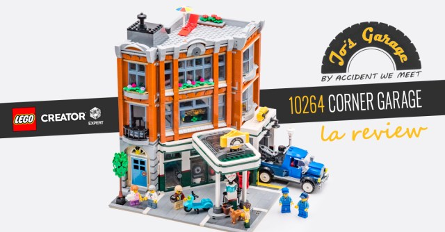 REVIEW LEGO Modular 10264 Corner Garage
