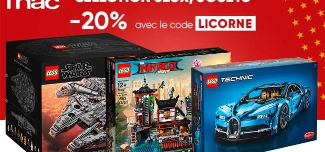 fnac promo lego