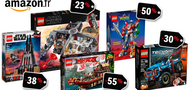 ventes flash LEGO Amazon promos