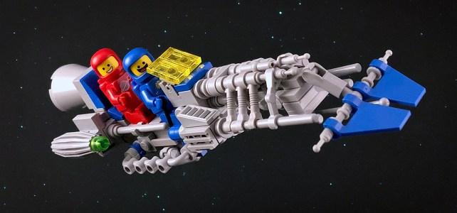 LEGO Classic Space speeder