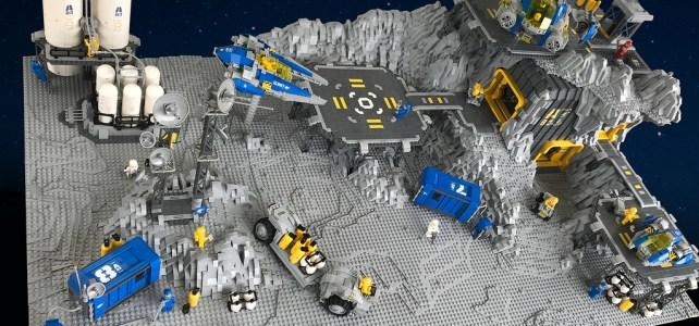 LEGO diorama neo Classic Space