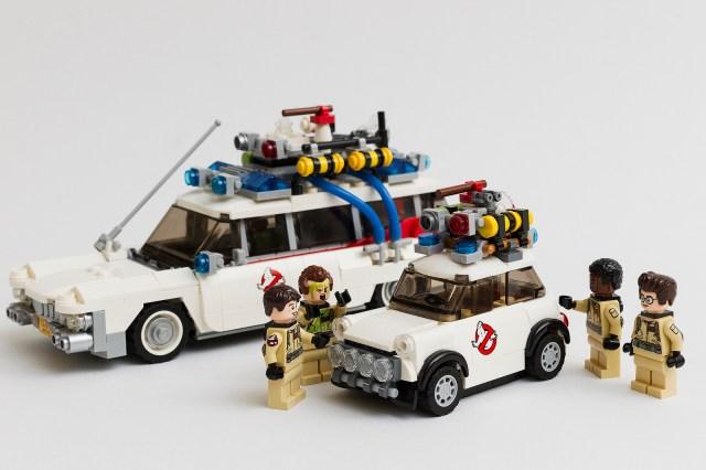 SOS Fantômes LEGO Mini Cooper Ecto 1