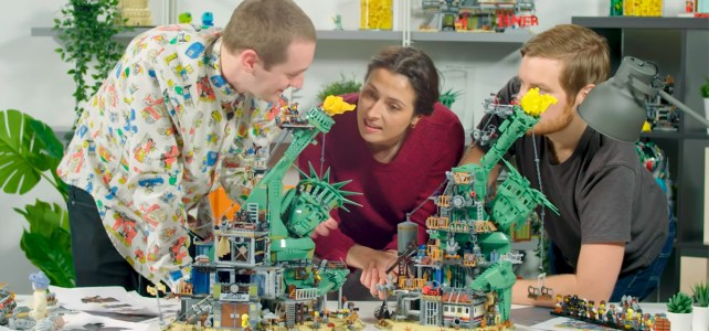 LEGO 70840 Welcome to Apocalypseburg video designers