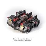 LEGO Batman Cartoonized Batmobile