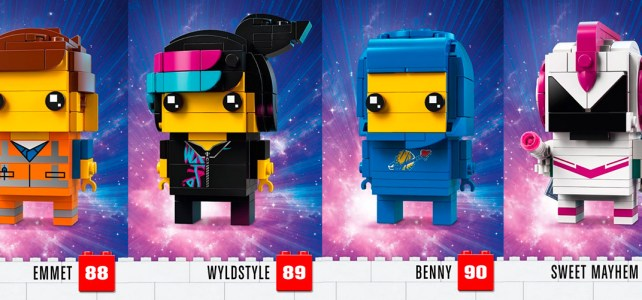 LEGO Movie 2 BrickHeadz