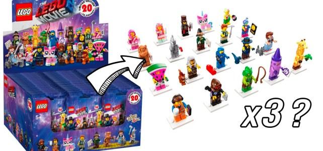 boite 60 LEGO 71023 The LEGO Movie 2