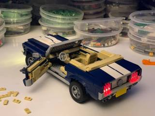 LEGO 10265 Ford Mustang GT 1967 décapotable LED