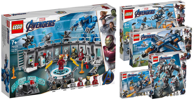 LEGO Marvel Avengers Endgame
