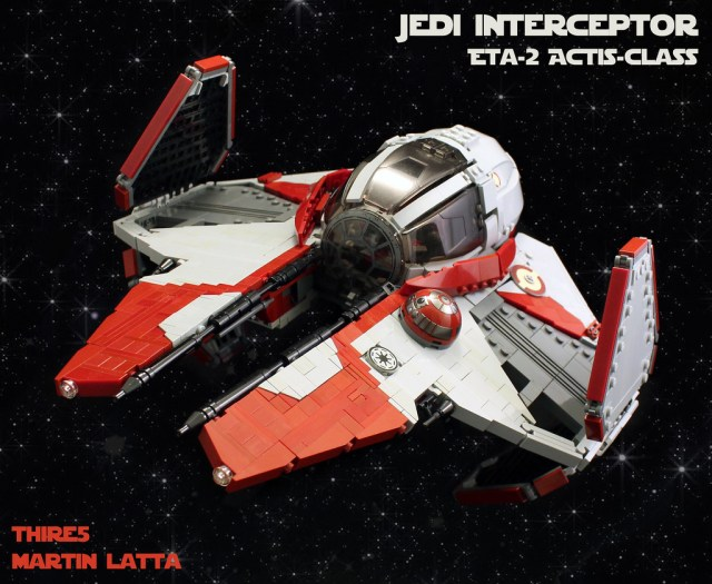 LEGO Star Wars Jedi Starfighter UCS