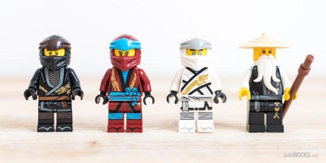 REVIEW LEGO Ninjago 70670 Monastery of Spinjitzu