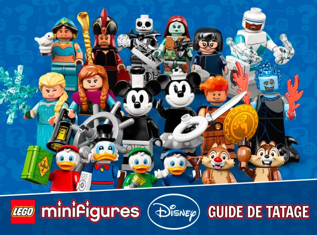 Guide Tatage LEGO Disney serie 2 71024