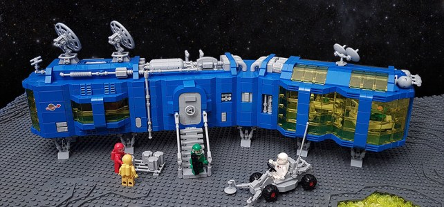LEGO Space NCS Research Outpost