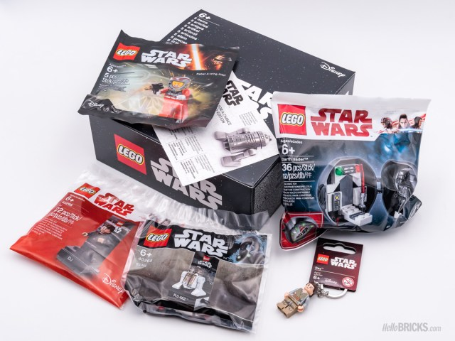 REVIEW LEGO 5005704 Mystery Box Star Wars