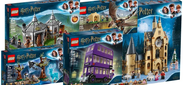 LEGO Harry Potter 2019 precommande