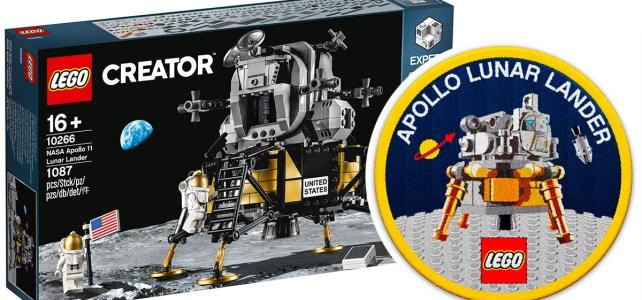 Patch LEGO 10266 NASA Apollo 11