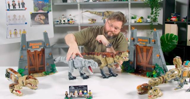 LEGO 75936 Jurassic Park T.Rex Rampage video designer